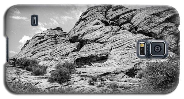 Rockscape In Greys Galaxy S5 Case