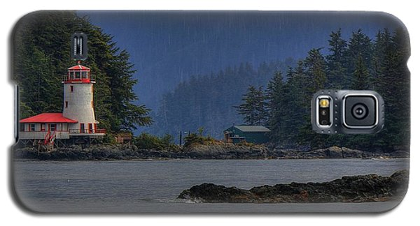 Rockwell Lighthouse Sitka Alaska Galaxy S5 Case