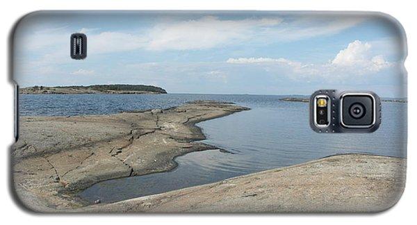 Rocky Coastline In Hamina Galaxy S5 Case