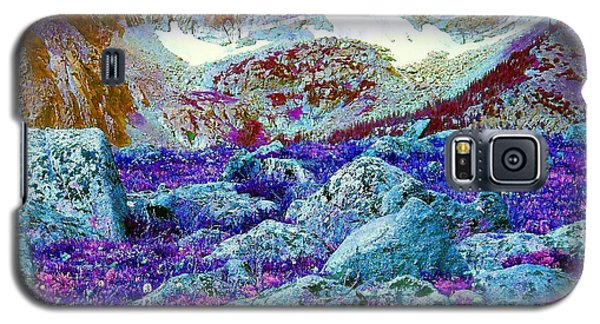 Galaxy S5 Case featuring the photograph Rocky Mountain Boulders by Ann Johndro-Collins