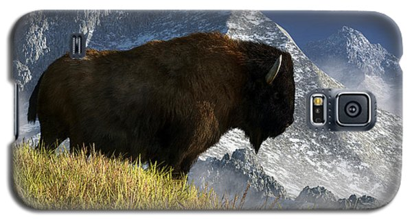 Rocky Mountain Buffalo Galaxy S5 Case