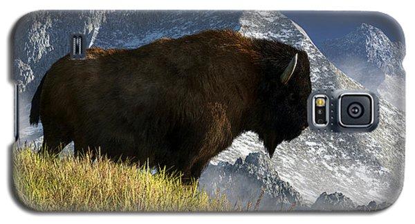 Rocky Mountain Buffalo Galaxy S5 Case