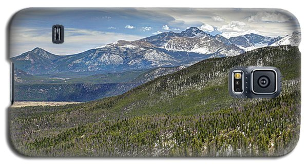 Galaxy S5 Case featuring the photograph Rocky Mountain Cloudscape by Martin Konopacki