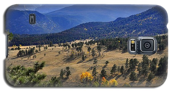 Galaxy S5 Case featuring the photograph Rocky Mountain Evening by Nava Thompson