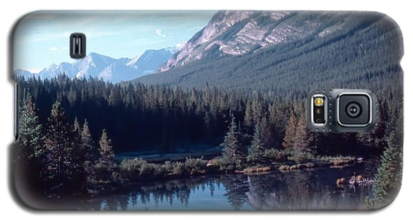 Galaxy S5 Case featuring the photograph Rocky Mountain Gem by Jim Sauchyn