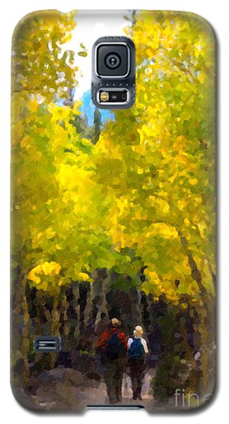 Rocky Mountain Hike Galaxy S5 Case