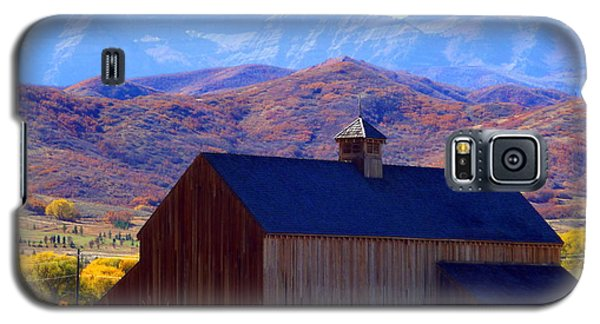 Galaxy S5 Case featuring the photograph Rocky Mountain Retreat by Jackie Carpenter