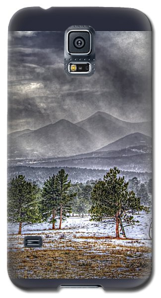Rocky Mountain Snow Storm Estes Park Colorado Galaxy S5 Case