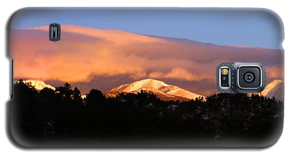 Galaxy S5 Case featuring the photograph Rocky Mountain Sunrise by Craig T Burgwardt