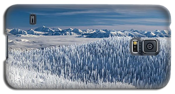 Rocky Mountain Winter Galaxy S5 Case by Aaron Aldrich