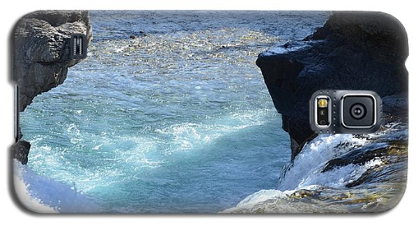 Elbow Falls Water  1.1 Galaxy S5 Case by Cheryl Miller