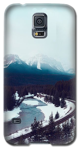 Galaxy S5 Case featuring the photograph Rocky Mountains by Kim Fearheiley