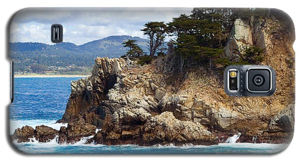 Rocky Outcropping At Point Lobos Galaxy S5 Case
