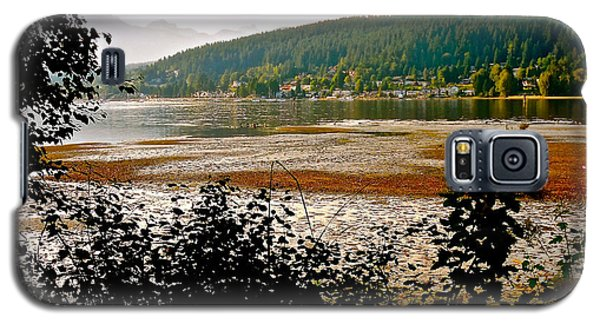 Galaxy S5 Case featuring the photograph Rocky Point Port Moody by Sher Nasser