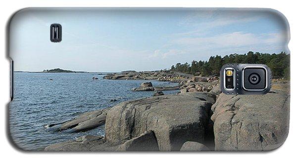 Rocky Seashore 2 In Hamina  Galaxy S5 Case