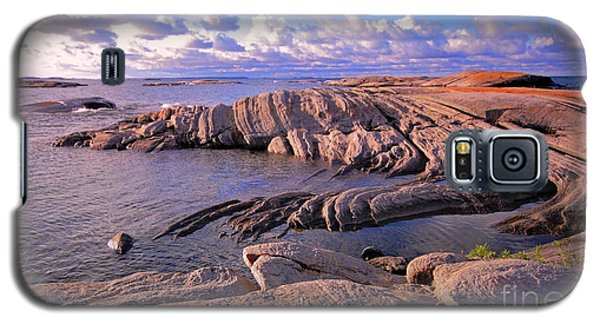 Rocky Shore Galaxy S5 Case by Charline Xia