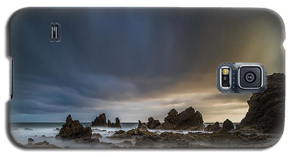 Planets Galaxy S5 Case - Rocky Southern California Beach 3 by Larry Marshall