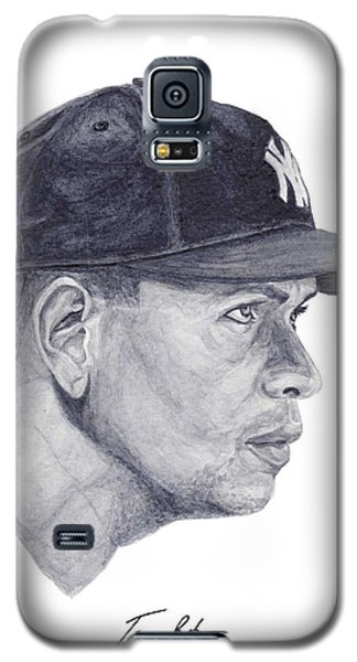 Galaxy S5 Case featuring the painting Rodriguez by Tamir Barkan