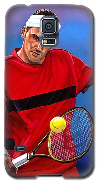 Roger Federer The Swiss Maestro Galaxy S5 Case