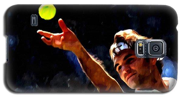 Roger Federer Tennis 1 Galaxy S5 Case