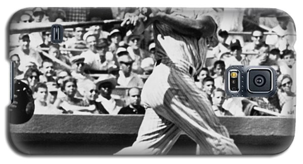 Roger Maris Hits 52nd Home Run Galaxy S5 Case by Underwood Archives