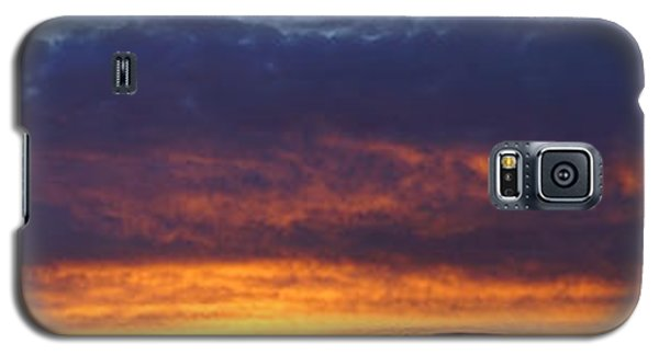 Rogue Valley Sunset Panoramic Galaxy S5 Case by Mick Anderson