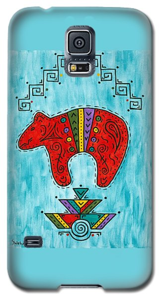 Rojo Oso Galaxy S5 Case