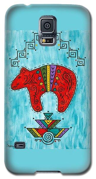 Rojo Oso Galaxy S5 Case by Susie WEBER