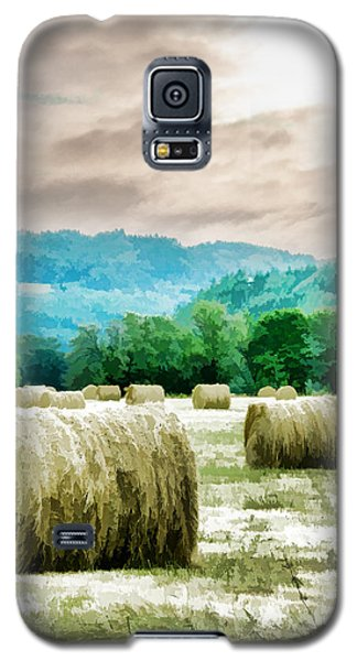Rolled Bales Galaxy S5 Case by Mick Anderson