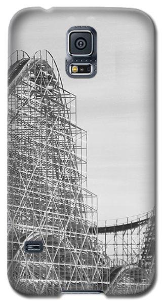 Roller Coaster Wildwood Galaxy S5 Case by Eric  Schiabor