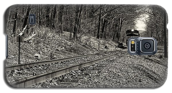 Rolling Down The Tracks Galaxy S5 Case