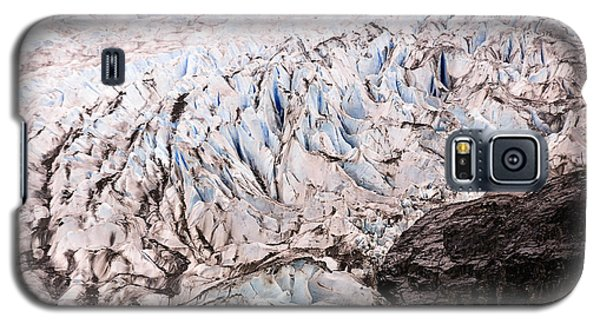Galaxy S5 Case featuring the photograph Rolling Ice Peaks by Davina Washington
