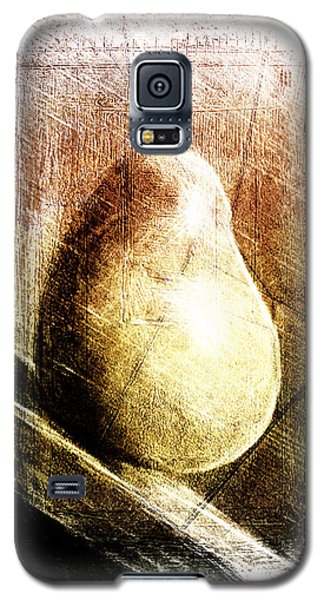 Galaxy S5 Case featuring the digital art Rolling Pear by Andrea Barbieri