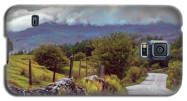 Rolling Storm Clouds Down Cumbrian Hills Galaxy S5 Case