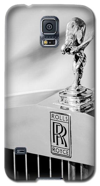 Rolls-royce Hood Ornament -782bw Galaxy S5 Case