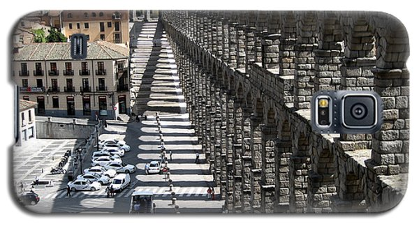 Galaxy S5 Case featuring the photograph Roman Aqueduct II by Farol Tomson
