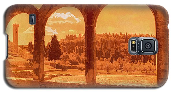 Roman Arches At Fiesole Galaxy S5 Case