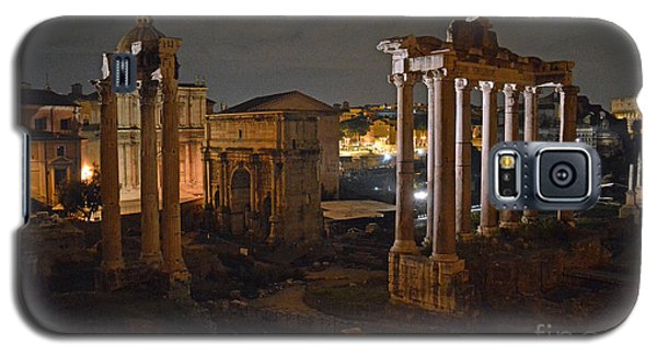 Roman Forum At Night 2 Galaxy S5 Case