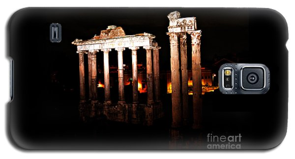 Roman Forum At Night Galaxy S5 Case