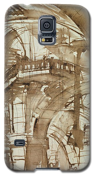 Dungeon Galaxy S5 Case - Roman Prison by Giovanni Battista Piranesi