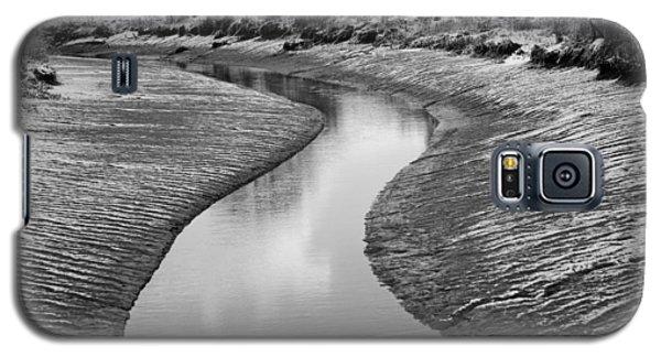 Galaxy S5 Case featuring the digital art Roman River Bend by David Davies