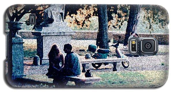 Galaxy S5 Case featuring the photograph Roman Romance Tivoli Gardens by Tom Wurl