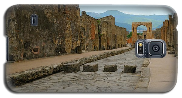 Roman Street In Pompeii Galaxy S5 Case
