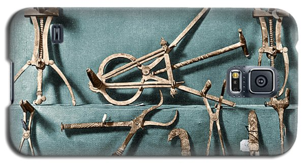 Galaxy S5 Case featuring the photograph Roman Surgical Instruments, 1st Century by Science Source