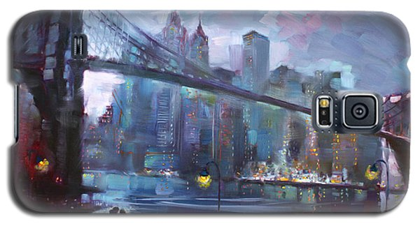 Architecture Galaxy S5 Case - Romance By East River II by Ylli Haruni