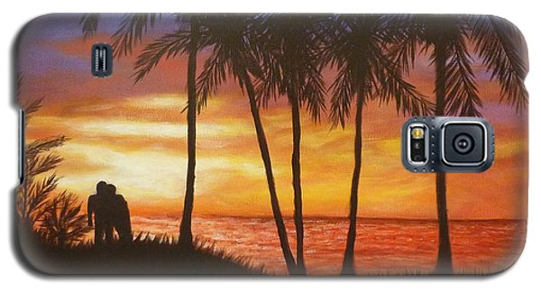 Romance In Paradise Galaxy S5 Case