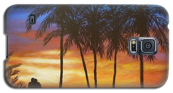 Romance In Paradise Galaxy S5 Case