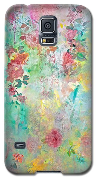 Galaxy S5 Case featuring the painting Romance Me - Acrylic On Canvas by Brooks Garten Hauschild