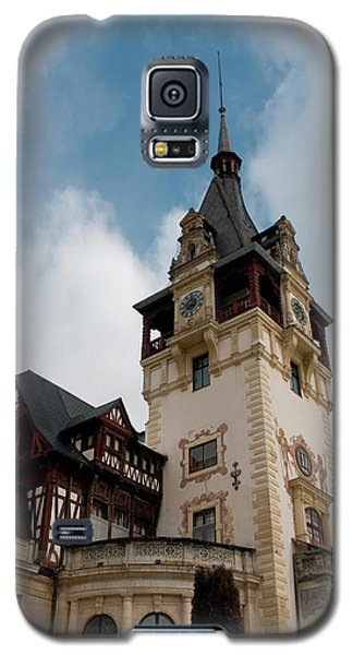 Romania Transylvania Sinaia Peles Castle Galaxy S5 Case by Inger Hogstrom