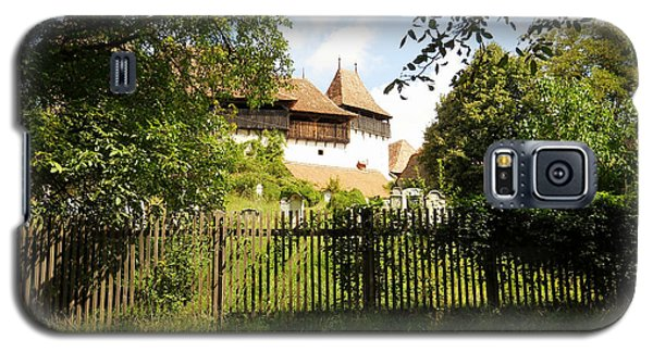Galaxy S5 Case featuring the photograph Romanian Fortified Church by Ramona Matei